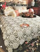 Antique Bedspread Annieand039s Attic Crochet Afghan Pattern Page