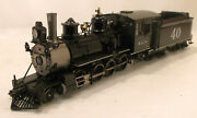 On3 Brass Precision Scale Rio Grande Southern C19 2-8-0 40 Factory Painted