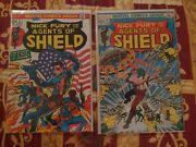 Nick Fury And His Agents Of Shield 2 And 4 Marvel, 1973