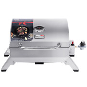 Royal Gourmet Gt1001 Bbq Tabletop Portable Propane Gas Grill Stainless Steel