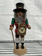 Straco Holiday Nutcracker Made In Germany Excellent Condition. No Chips