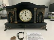 E N Welch Mantle Clock / Sessions