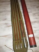 Vintage Wright And Mcgill Granger Special Bamboo Fly Rod 9and039 3/2andnbspandnbsp
