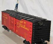 Lionel Trains 6-29320 Walking Brakeman Boxcar Union Pacific Up Operating C7 Wrks