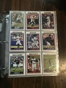 Topps Baseball Card Collection Binder Full Of 400+ Quality Conditioned Cards