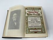 Rare 1908 Vintage The Favorite Medical Receipt Book And Home Doctor Illustrated