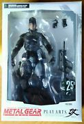 Play Arts Kay Metal Gear Solid Snake 25th Anniversary Action Figure Rr