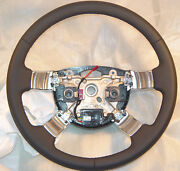 Land Rover Oem L322 Range Rover 2010 My Nappa Heated Leather Steering Wheel New