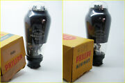 2 Nos Philips 4683 Ad1 Eb Iii Lk. Telefunken Test V.strong And Matched Vacuum Tube