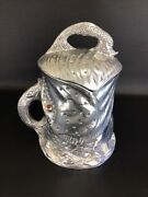 Arthur Court Fish Ice Bucket Covered Wine Cooler Rare Wonders Of The Water 1979