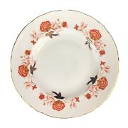 Royal Crown Derby Bali Ely Chelsea Scallop Shape Dinner Plate 10 1/2andrdquo A1100