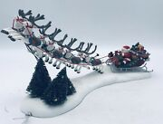 Department 56 Santa's Sleigh And Reindeer Heritage Village Collection 56.58630