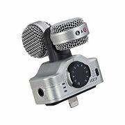 Zoom Iq7 Ms Stereo Microphone For Iphone/ipad/ipod Touch F/s W/tracking Japan