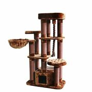 Tokyo Deluxe Cat Tree-62 Tall, 1 Color Choice, Free Shipping In The U.s.