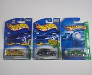 Hot Wheels Super And Treasure Hunt Lot 2007 And03969 Camaro Z28 2003 And03958 Ford Ff And03940
