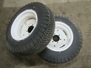 Case/ingersoll 444 448 4016 4020 446 Tractor Good Year 8.00-16 Rear Tires And Rims