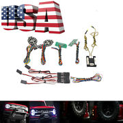 Front Rear Lamp Group Led Light System For Traxxas Trx-4 2021 Ford Bronco Us