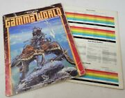 Gamma World Role Playing Game Rulebook And Action Table - Tsr 1986