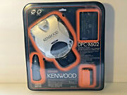 Kenwood Extra Bass Boost Dpc-x602 Cd Player Car Kit Sealed New In Package