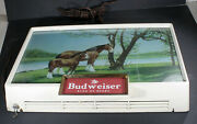 Vintage 50's Budweiser Clydesdale Mother And Faol Back Bar Light
