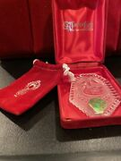 1990 Waterford Crystal 7 Swans A Swimming 12 Days Of Christmas Ornament