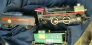 Lionel O27 Mkt Katy Steam Loco. 246 And Tender And Caboose Wt 42500 Dc Only