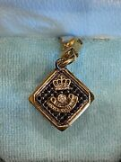 Ultra Rare Juicy Couture Black Dice Charm