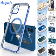 Magsafe Magnetic Clear Case For Apple Iphone 13 12 Pro Max 11 Pro Max Slim Cover