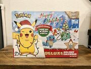 2021 Pokemon Happy Holidays Deluxe Holiday Advent Calendar Pop-up N Play Display