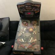 Harley Davidson Toy Pinball Machine Fully Working No Legs No Power Cable Read