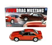 Rare Gmp 1989 Ford Drag Mustang Fox Body Goodness 1/18 Scale Diecast Car