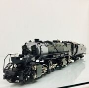 Right-of-way Gn N-3 2-8-8-0 Steam Engine 2023 And Tender O Scale 3 Rail