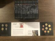 2012 Euro 10th Anniversary 246-coin Collection - 17 Volumes Total - Rare Set