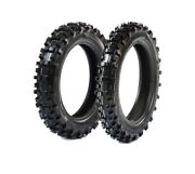 Protrax Offroad Mini Pit Bike Front 2.50-10 And Rear 2.75-10 Tire Combo Dirtb