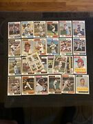 1974 Topps Baseball Cards Lot Hof Only No Common Finish Your Collection Vgex- Nm