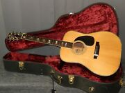 Made In Japan 1978 - Morris W60 - Absolutely Amazing D45 Style Acoustic Guitar