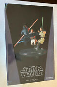 Star Wars Duel Of The Fates -- Sideshow Collectibles Diorama Statue -- In Box