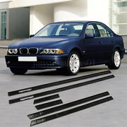 M5 Style Door Sill interir Tread Plates For Bmw 5 E39 1997-2003 Unpainted