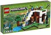 Lego Minecraft Secret Waterfall Escape At The Foot Of The Waterfall 2113 New