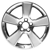 18 X 8.5 5 Spoke Refurbished Oem Ford Alloy Wheel All Painted Silver 03647