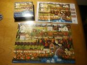 Charles Wysocki Honey Valley 500 Pc Puzzle Used Complete Buffalo Games Copy 2