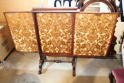 Amazing Expandable Antique Victorian Fireplace Privacy Screen