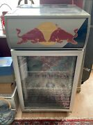 Red Bull Refrigerator Floor Standing Or For Large Countertop