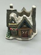 Kand039s Collection Mini House Village Christmas Decorations Toy Store Gray Red Green