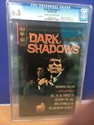 1969 Dark Shadows 1 Gold Key Comic Cgc 6.5 With Poster - Barnabas Collins