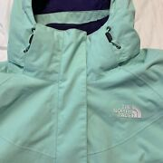 The Boundary Triclimate Hyvent Jacket Size M Teal/purple