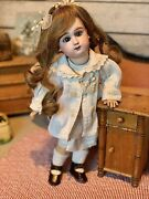 Antique Doll Rare Jullien 4 Perfect Sweet Doll 38 Cm 14.7 Inches