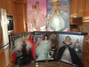 Lot Mixed 7 Collection Barbie Dolls