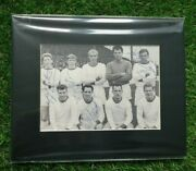 Tranmere Rovers Circa 1962 Signed By 4 Players Mounted Display 10x8 Spt Coa