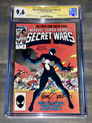 Secret Wars 8 Cgc 9.6 Signed By Zeck And Beatty.. Origin Of Symbiote Black Suit